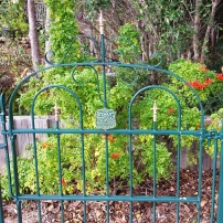 June Wildes' Garden Gate