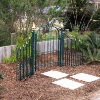 June Wildes Garden Gate