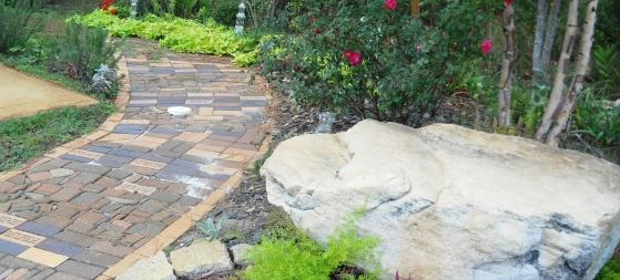 Memorial Brick Garden